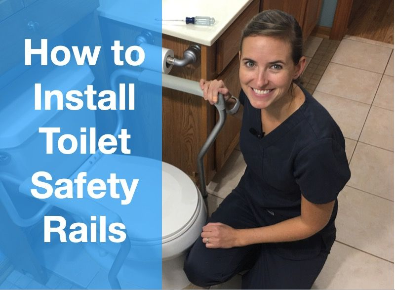 How to Install Toilet Safety Rails