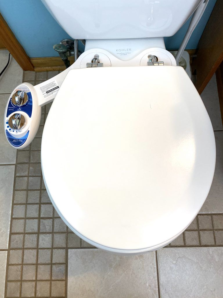 Luxe Bidet Neo 120 installed
