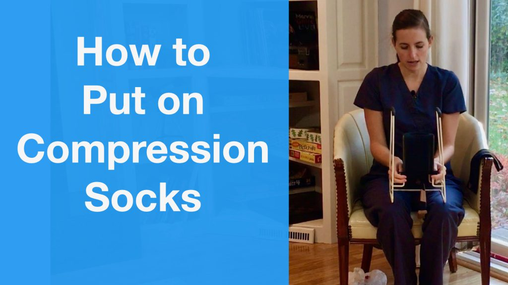 How to Put on Compression Socks With and Without Tools