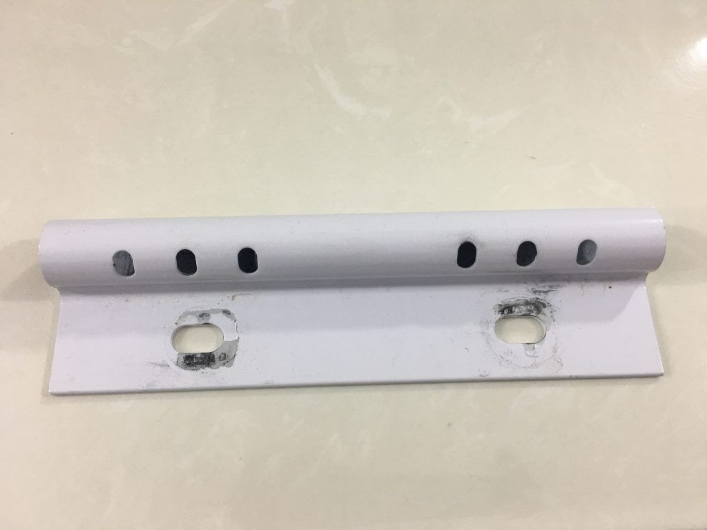 Mounting bracket for toilet safety rails