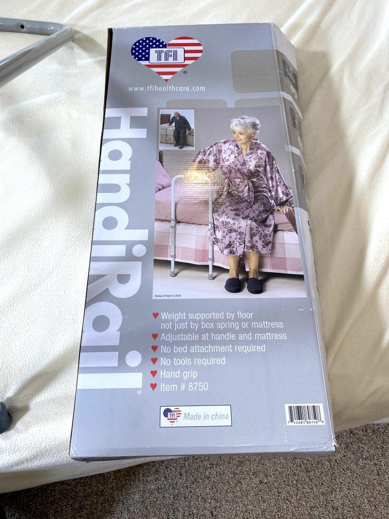 Adult Bed Rails - HandiRail Box
