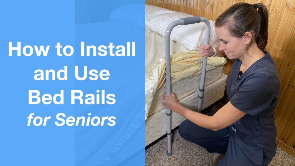 How to Install and Use Bed Rails for Seniors