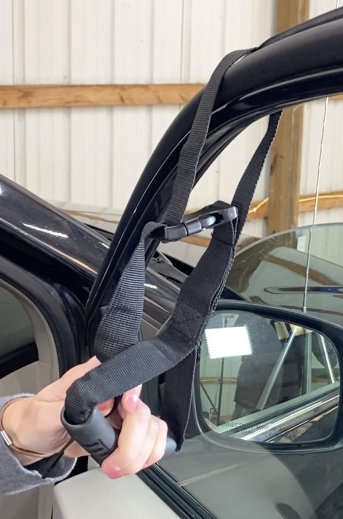 Clip Window Strap Around Car Door Window