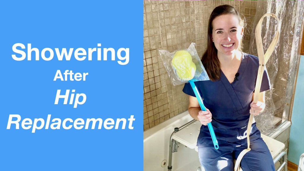 Showering After Hip Replacement
