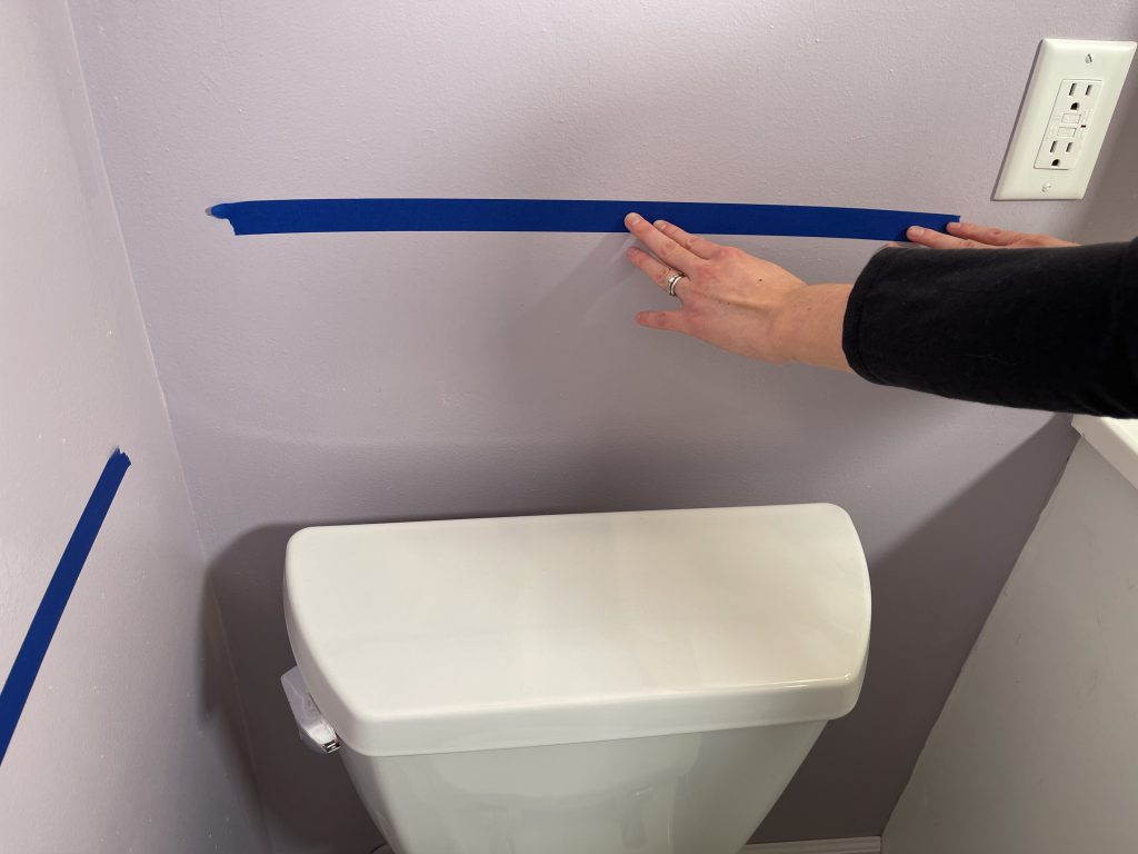 Toilet Grab Bar Placement - Mark Position Behind Toilet