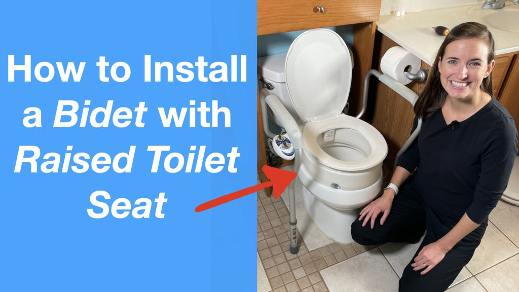 How to Install a Bidet with Raised Toilet Seat