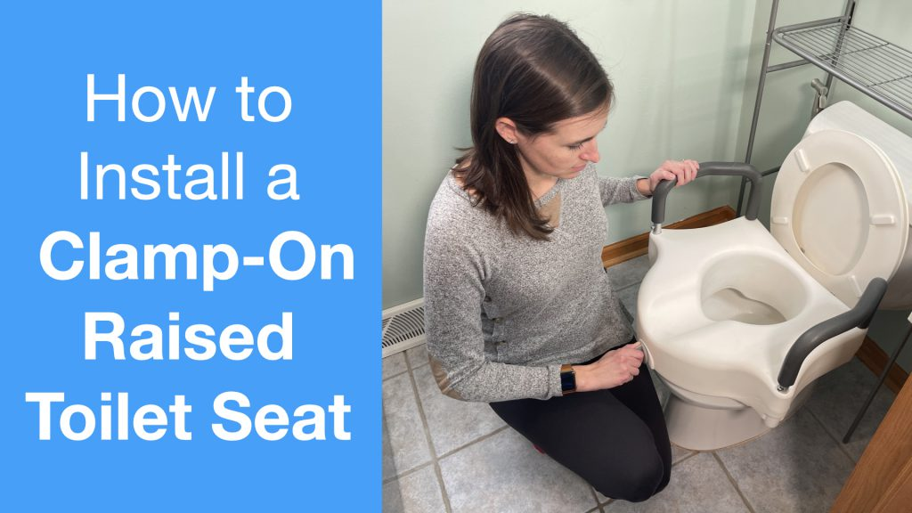 How to Install a Clamp-On Raised Toilet Seat