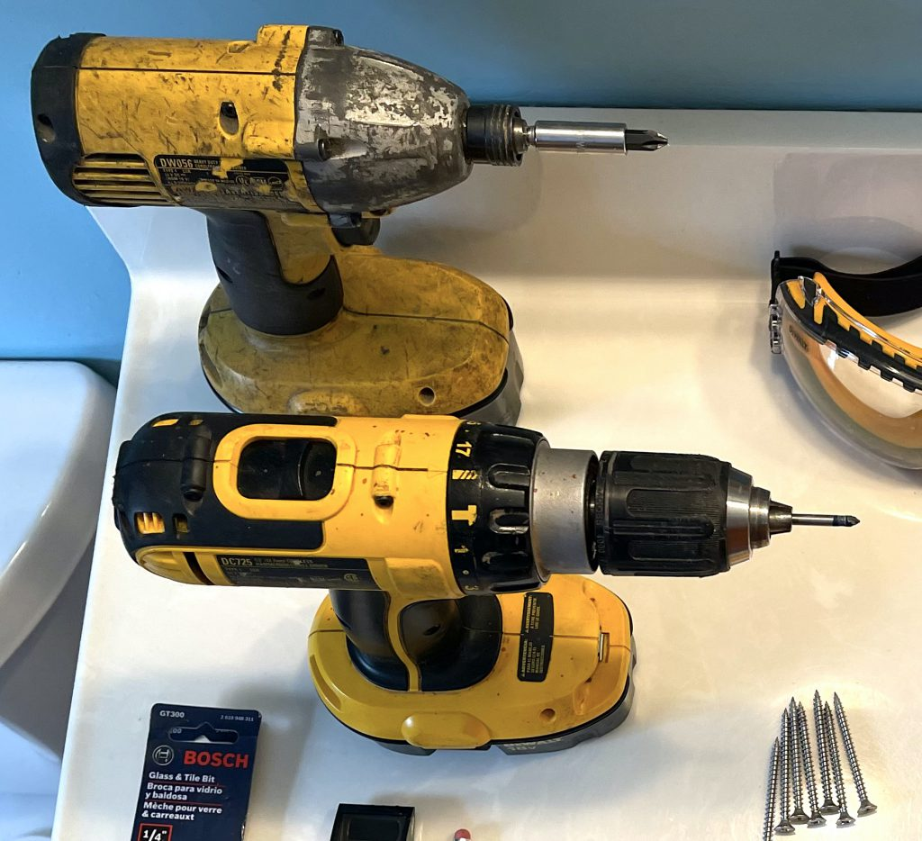 Impact Driver and Drill - How to Install a Grab Bar