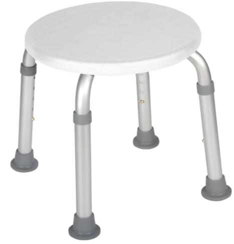 Standard round shower stool